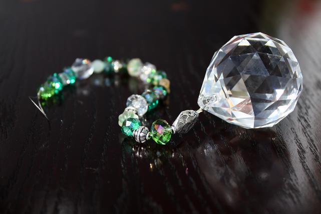 Hanging Jeweled Swarovski FAMILY Crystal