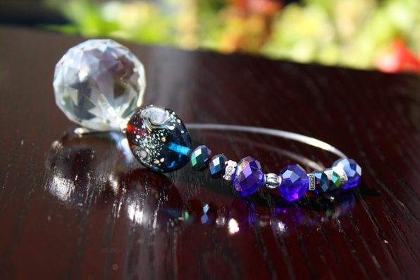 Jeweled Crystal Car Charm... WEALTH