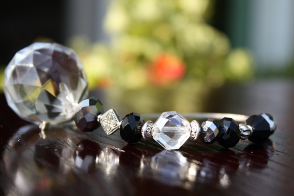 Jeweled Crystal Car Charm..CAREER